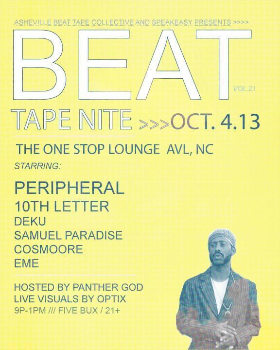 Beat Tape Nite 10-4-13